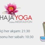 Online Meditasyon Yayın Duyurusu